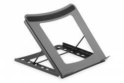 Przenośny stojak na laptop 11 cali i 15 cali, 5 kątów regulacji Czarny