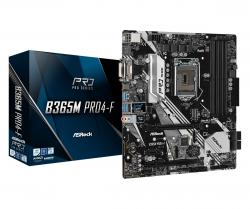 Płyta główna B365M Pro4-F s1151 4DDR4 HDMI/DVI/D-SUB uATX