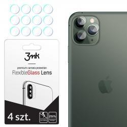 Szkło hybrydowe FlexibleGlass Lens iPhone 11 Pro Max na obiektyw aparatu 4 szt