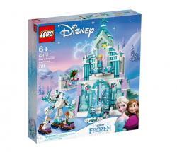 LEGO Klocki Disney Magiczny lodowy pałac Elsy