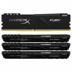 HyperX DDR4 Fury Black 128GB/3200 (4x32GB) CL16