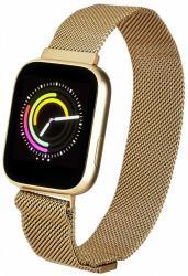Smartwatch Women Eva Złoty Stalowy