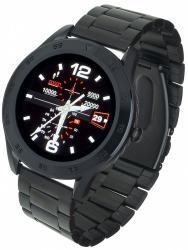 Smartwatch GT22S Czarny Stalowy