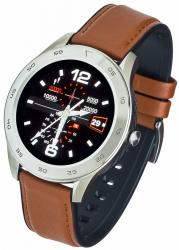 Smartwatch GT22S Jasny brąz Skórzany