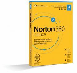 *Norton 360 DELUX 25GB PL 1U 3Dvc 1Y 21408734