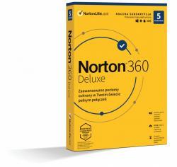 *Norton 360 DELUX 50GB PL 1U 5Dvc 1Y 21408667