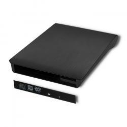 Obudowa/kieszeń na napęd CD/ DVD SATA | USB 2.0 | 12.7mm