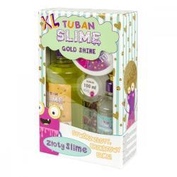 Masa plastyczna Zestaw super slime - Gold Shine XL