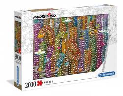 Puzzle 2000 elementów Mordillo The Jungle