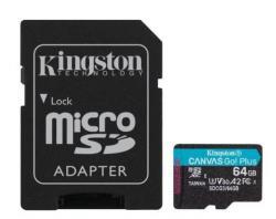 Karta microSD 64GB Canvas Go Plus 170/70MB/s Adapter