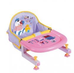 Krzesełko do karmienia przy stole BABY BORN