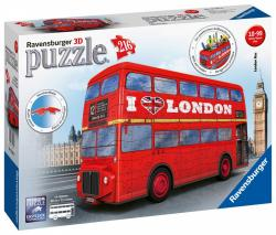 Ravensburger Puzzle 216 elementów 3D London Bus