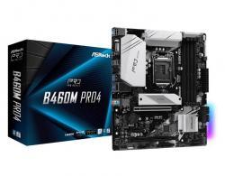 Płyta główna B460M Pro4 s1200 4DDR4 HDMI/DP/D-SUB M.2 mATX