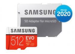 Karta pamięci MB-MC512HA/EU EVO+ mSD +Adapter