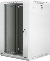 Szafa instalacyjna RACK wisząca 19 cali 18U 570X600 szara