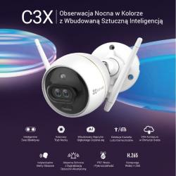 Kamera bezpieczeństwa C3X ColorNightVision FHD,24h Cloud for free