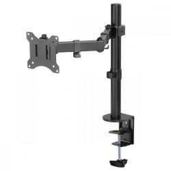 Uchwyt biurkowy do monitora LCD MC-883 17-32 cale 8kg vesa 75x75 oraz 100x100 Podwójne ramię
