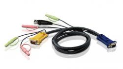 Kabel 3M USB KVM Cable 3in1 SPHD and Audio 2L-5303U