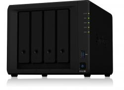 NAS DS920+ 4x0HDD 4GB DDR4 2,0Ghz 2xRJ45 2xUSB3.0 1xeSATA