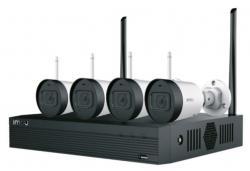 Zestaw monitoringu: 4 kamery Bullet Lite 2MPx + Rejestrator z dyskiem 1TB + akcesoria