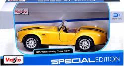 Model metalowy Shelby Cobra 427 1965 1/24 Żółty