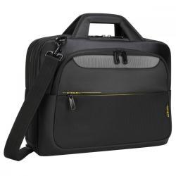 Torba na laptopa CityGear 14-15.6 cala Topload czarna