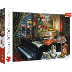 Puzzle 2000 elementów Dźwieki muzyki