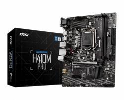 Płyta główa H410M PRO s1200 2DDR4 HDMI/DVI M.2 USB3.2 mATX
