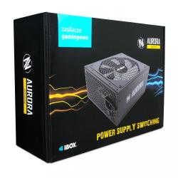 Zasilacz Aurora 600W 14 Fan gaming BOX