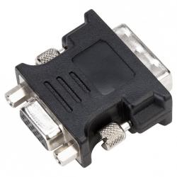 Adapter DVI-I Male to VGA Female Adapter - Black
