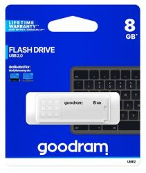 Pendrive UME2 8GB USB 2.0 Biały