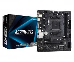 Płyta główna A520M-HVS AM4 2DDR4 HDMI/VGA M.2 mATX