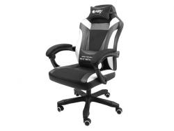Fotel dla graczy Fury Avenger M+ Czarno-biały