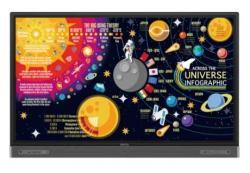 Monitor interaktywny 65 cali RP6502 LED 1200:1/3840x2160/HDMI
