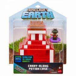 Mattel Zestaw schowek na minifigurki Mikstura Minecraft