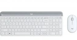 Klawiatura i mysz MK470 Wireless Offwhite 920-009205