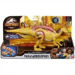 Mattel Figurka Jurassic World Dinozaury Ryk bojowy Parasaurolophus