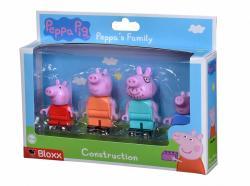 Simba PlayBIG Bloxx Świnka Peppa Rodzina Peppy