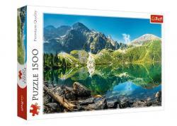 Puzzle 1500 elementów Jezioro Morskie Oko Tatry Polska