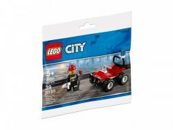 Lego Klocki City Strażacki Quad