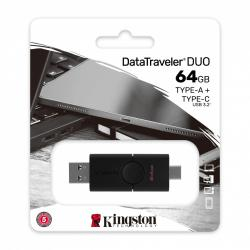 Pendrive Data Traveler Duo 64GB USB 3.2 A/C Gen 1