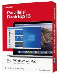 Parallels Desktop 16 Retail Box 1yr EU
