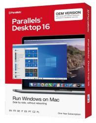 Parallels Desktop 16 Flatpack 1yr OEM EU