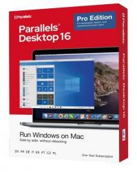 Parallels Desktop 16 Pro Retail Box 1Yr EU