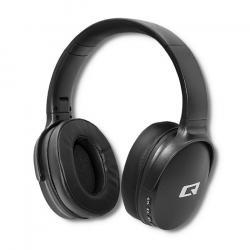 Qoltec Słuchawki bezprzewodowe z mikrofonem BT Super bass Dynamic  Czarne