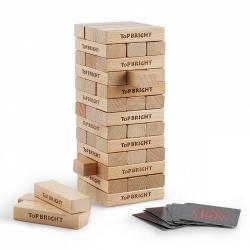 Gra wieża twarde drewno