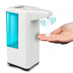 Automatyczny dozownik pojemnik dyspenser do płynów dezynfekujących 500ml na 4 baterie AA PR-470