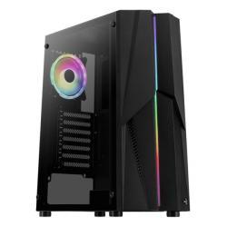 Mecha ARGB TG USB 3.0 Mid Tower Black