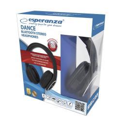 Słuchawki bluetooth dance Czarne