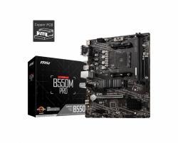 Płyta główna B550M PRO AM4 4DDR4 HDMI/DP/VGA mATX